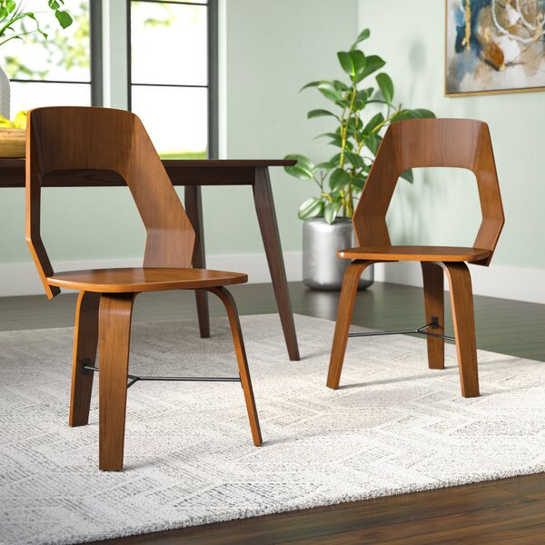 Electra Upholstered Dining Chair (Set of 2) by Langley Street