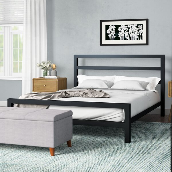 Vicksburg Metal Platform Bed By Orren Ellis
