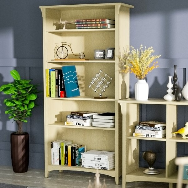 Buettner 5-Tier Standard Bookcase By Foundry Select