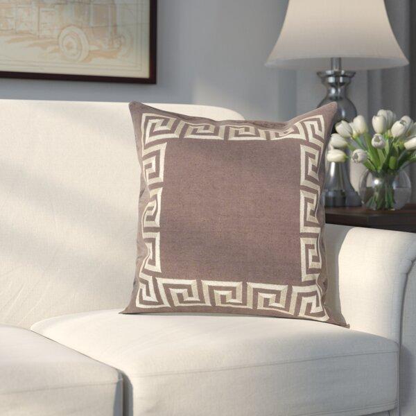 Hirsh Linen Throw Pillow Cover by Alcott Hill