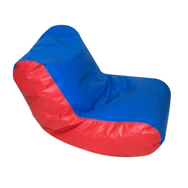 Small Faux Leather Bean Bag Chair & Lounger By Children's Factory