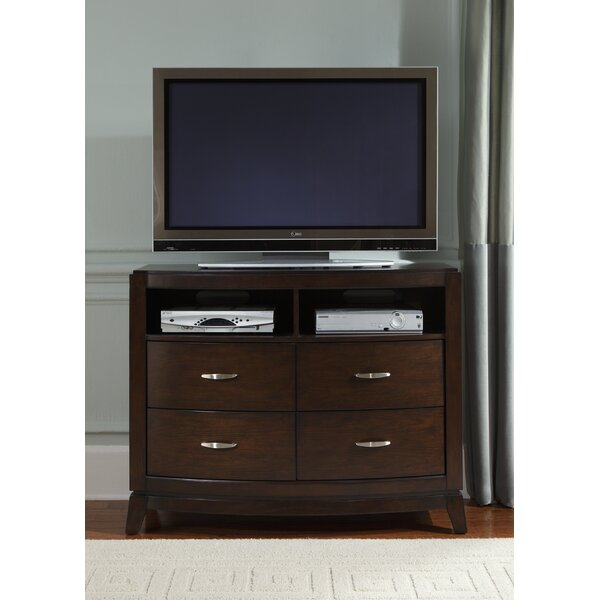 Loveryk 4 Drawer Media Chest by Darby Home Co