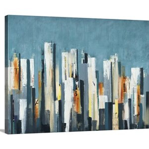 'Urban Play' by Lisa Ridgers Painting Print on Canvas by Great Big Canvas