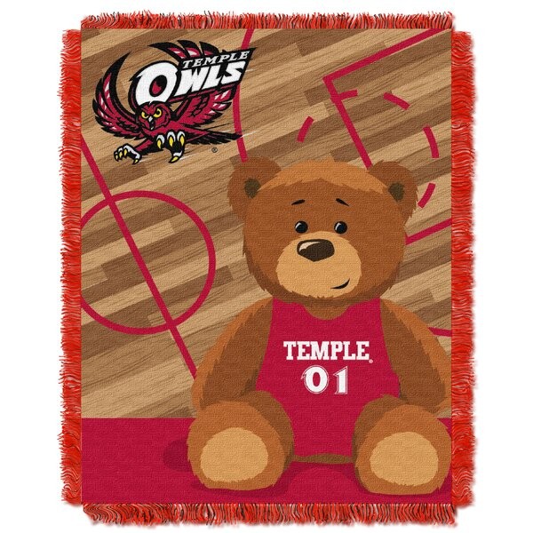 Collegiate Temple Baby Throw by Northwest Co.