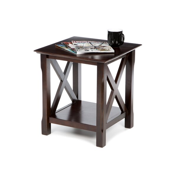Toledo End Table By Charlton Home