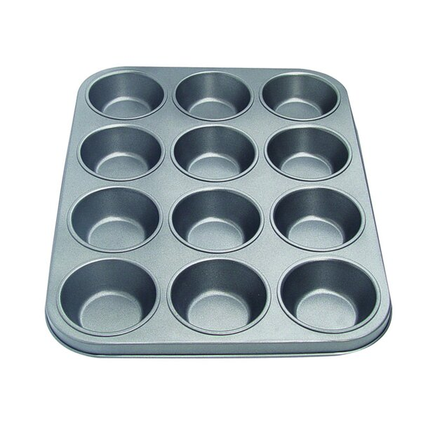Non-Stick 12 Cup Muffin Pan by Culinary Edge