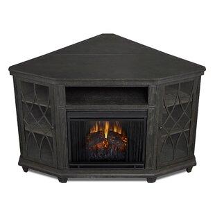 Corner Faux Fireplace Tv Stand Wayfair