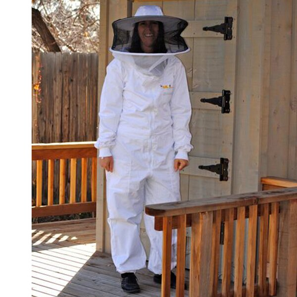 Nestor Beekeeper Protective Clothing Full Bee Suit by Tucker Murphy Pet