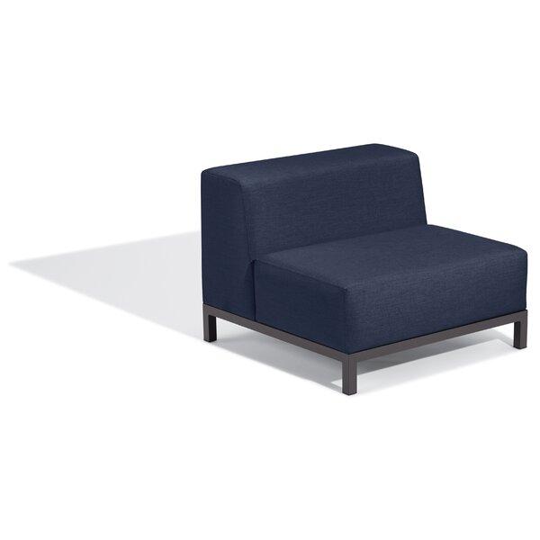 Koral Modular Patio Chair with Sunbrella Cushions by Latitude Run Latitude Run
