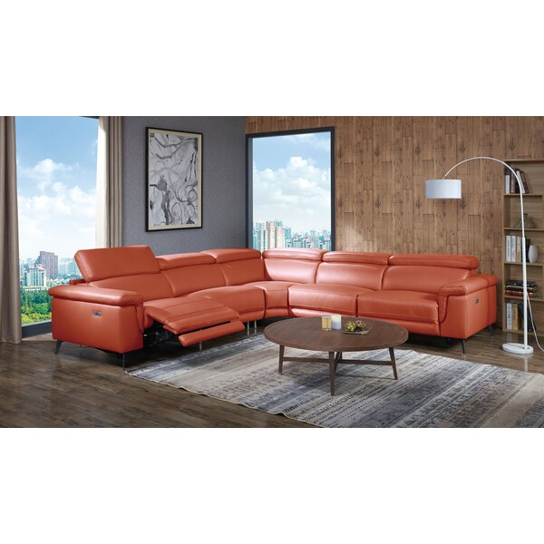 #2 Philippa Reclining Sectional By Orren Ellis Read Reviews