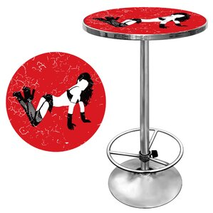 Shadow Babes B Series Pub Table by Trademark Global