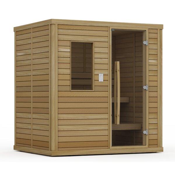 Goldstar 4 Person Traditional Steam Sauna by Premium Saunas