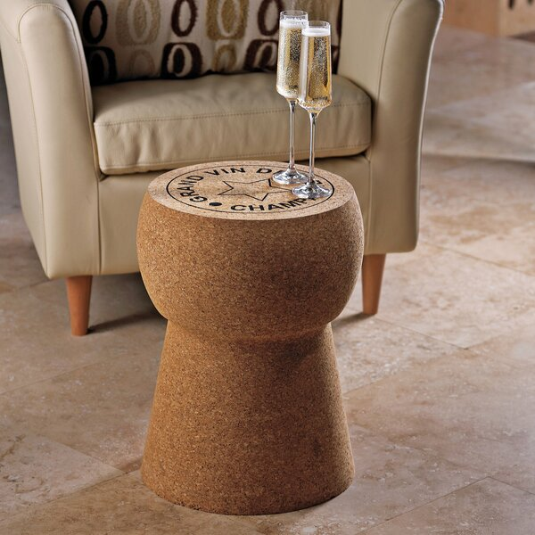Giant Champagne Cork Stool/Table by Wine Enthusiast