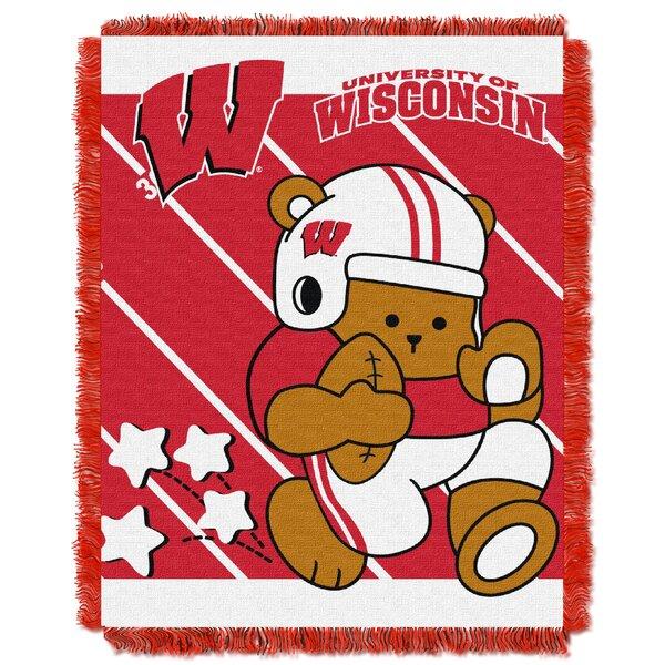 Collegiate Wisconsin Baby Blanket by Northwest Co.