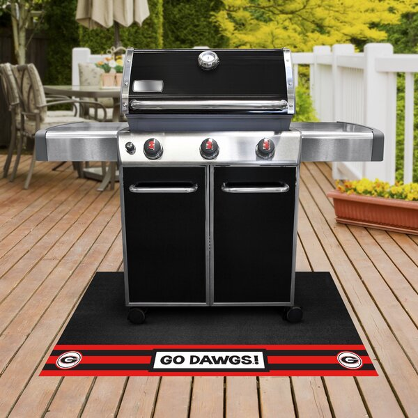 NCAA University of Georgia Grill Mat by FANMATS
