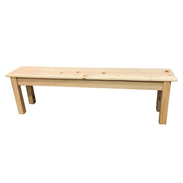 Hannan Wood Bench by Highland Dunes