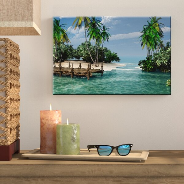 Photographic Print on Stretched Canvas by Bay Isle
