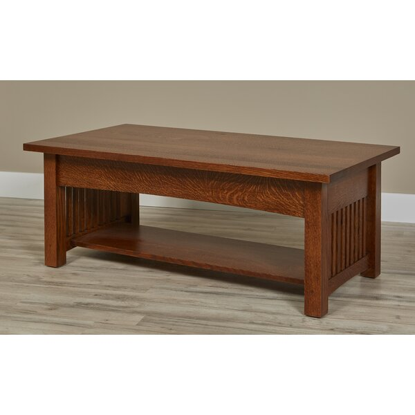 Linnea Coffee Table by Millwood Pines Millwood Pines