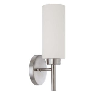 Compare prices Rossington 1-Light Bath Sconce By Sunset Lighting