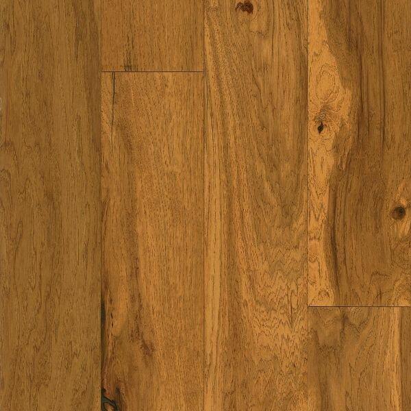 American Scrape 5 Engineered Hickory Hardwood Flooring in Amber Grain by Armstrong Flooring