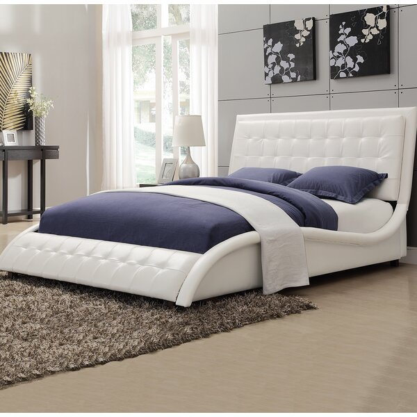 Wickstrom Queen Upholstered Platform Bed by Willa Arlo Interiors