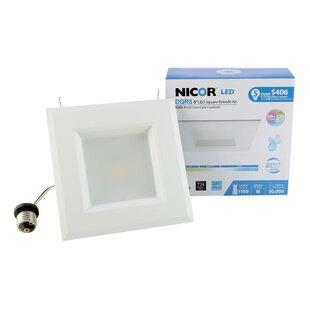 Best Price Square LED Recessed Housing By NICOR Lighting