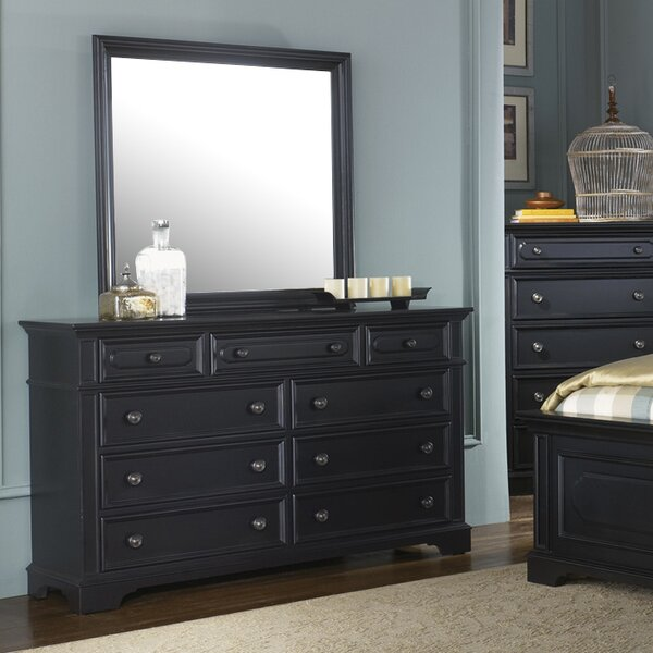Linda Rectangular Dresser Mirror by Darby Home Co