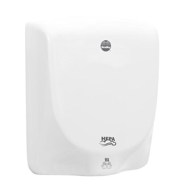 High Speed 120 Volt Hand Dryer in White by Bradley Corporation