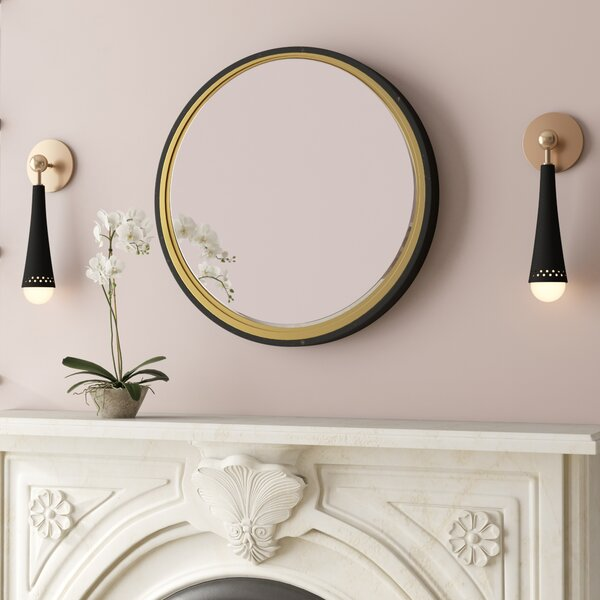 Hudak Wall Mirror by Mercer41