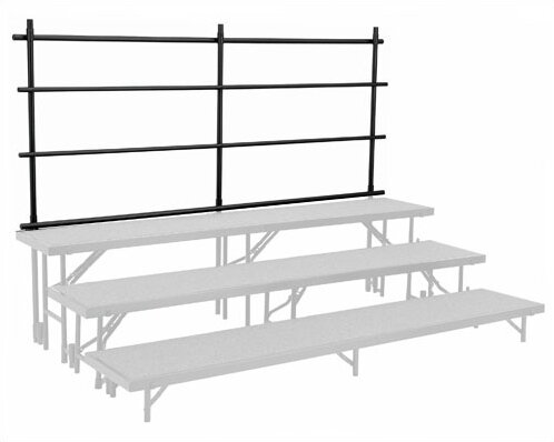 Guard Rail for Straight Risers by National Public Seating