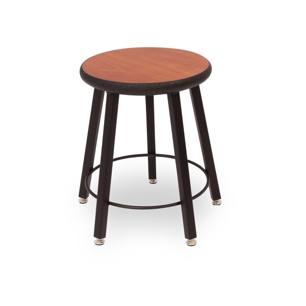 Round Laminate Armor Edge Seat 5 Leg Stool by WB Manufacturing