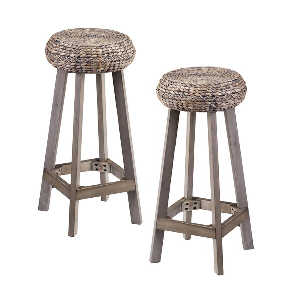 Shiena 30 Bar Stool (Set of 2) by Bayou Breeze
