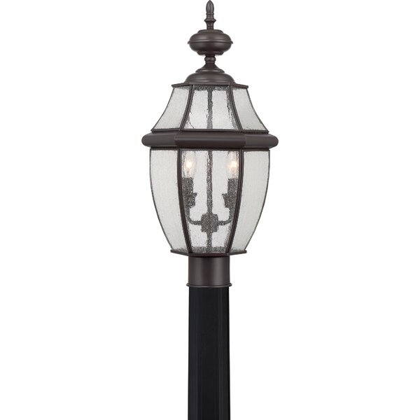 Mellen 2-Light Lantern Head by Three Posts