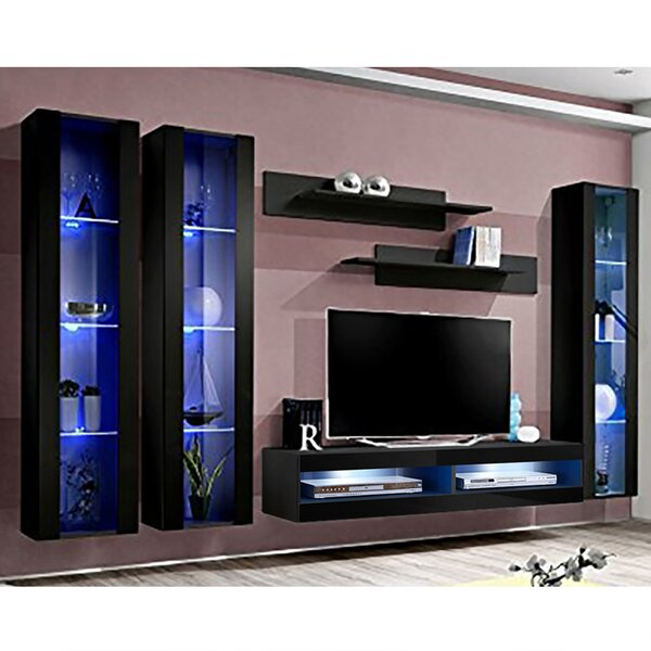 FLYCD2 Floating Entertainment Center For TVs Up To 70