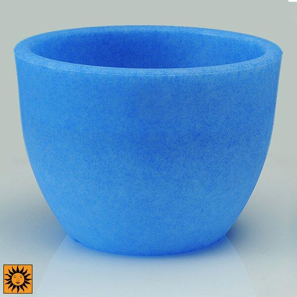 Glow Plastic Pot Planter by Design Toscano