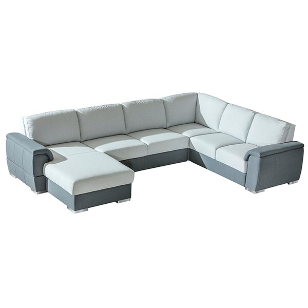 Haddington Sleeper Sectional by Orren Ellis Orren Ellis