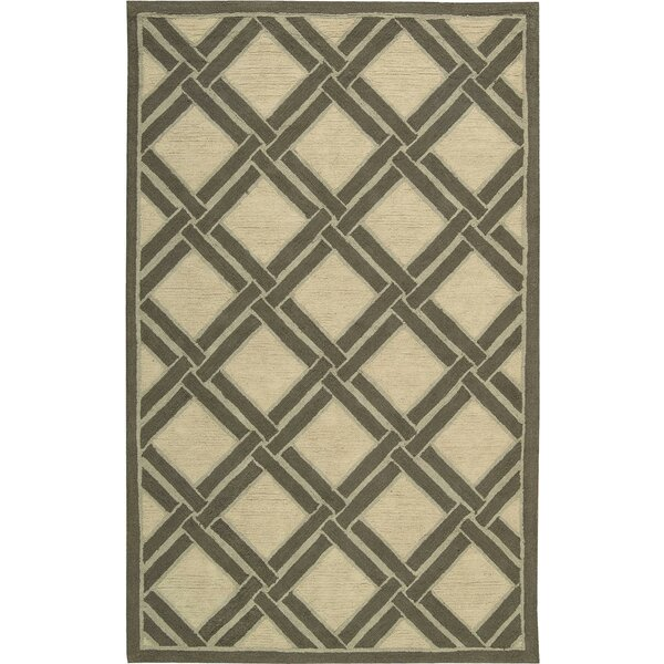 Atlantic Hand-Woven Ivory Area Rug by Bay Isle Home