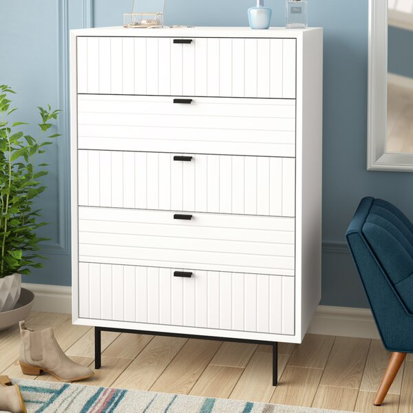 Arnett 5 Drawer Lingerie Chest by Trule Teen