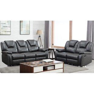 Demri 2 Piece Reclining Living Room Set by Latitude Run®