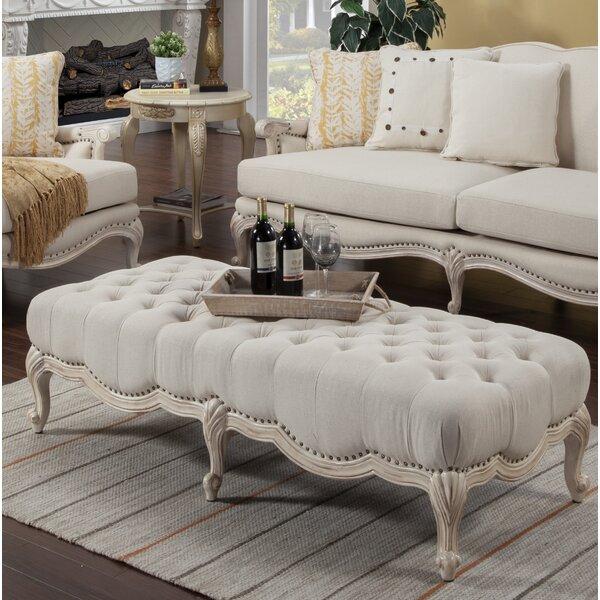 Ava Upholstered Bench by Benetti's Italia