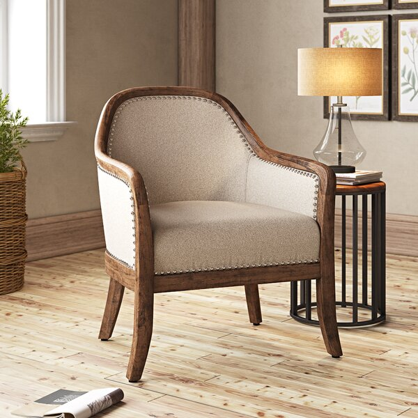 Vonda Barrel Chair by Gracie Oaks Gracie Oaks