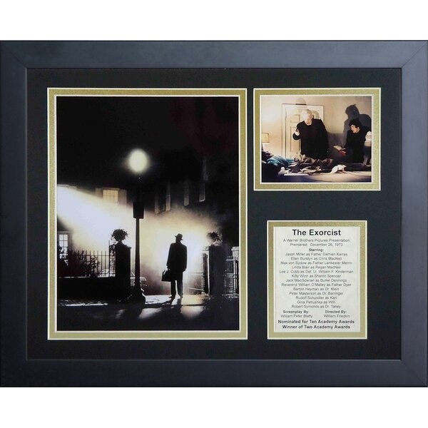 The Exorcist Framed Photographic Print by Legends Never Die