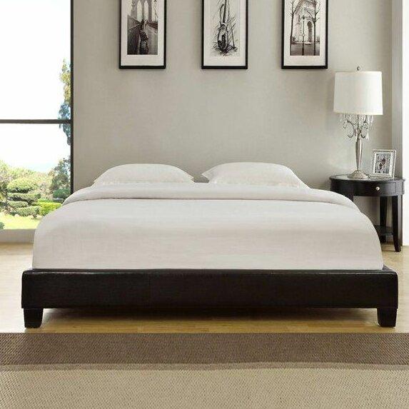 Isa Upholstered Platform Bed by Wade Logan
