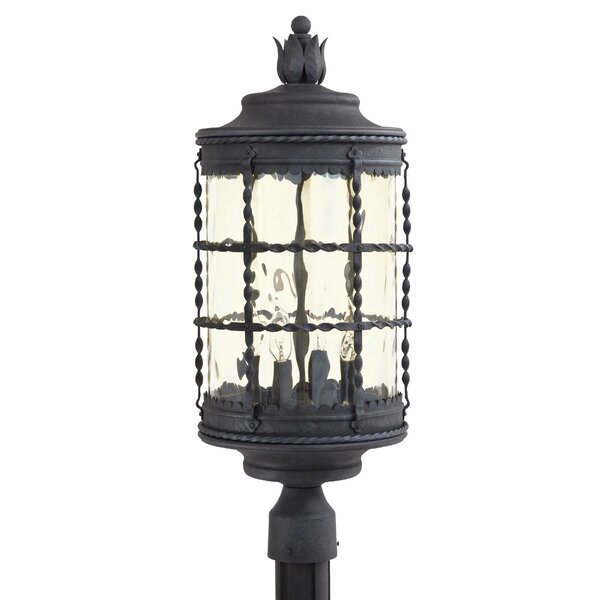 Calem Outdoor 4-Light Lantern Head by Gracie Oaks