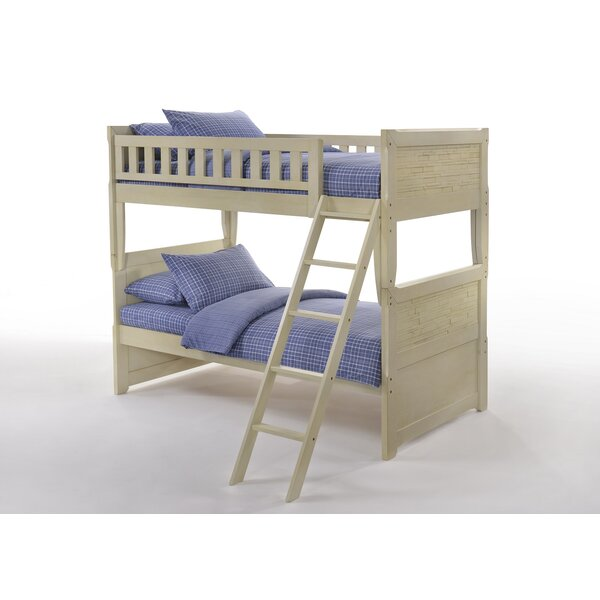 Etchison Adams Boulevard Twin Bunk Bed by Harriet Bee