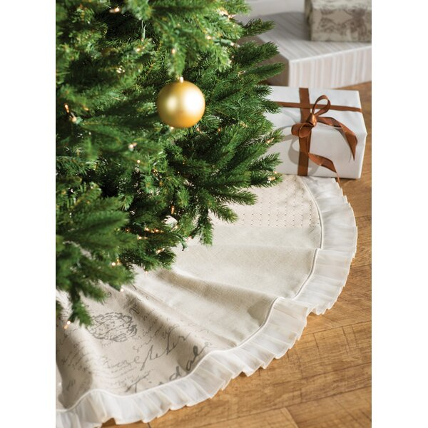 Patchwork Christmas Tree Skirt by One Allium Way