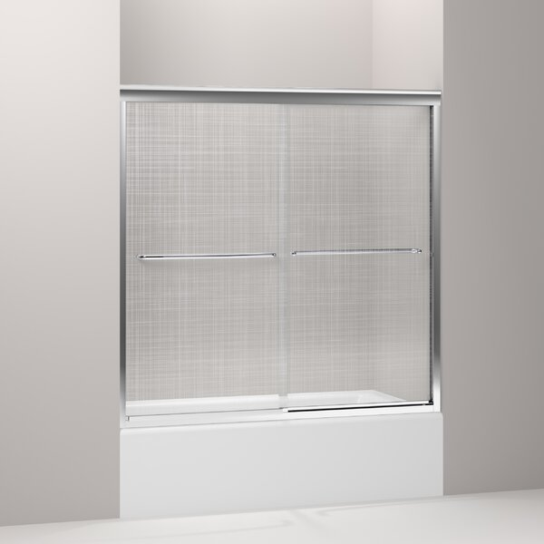 Fluence 59.63 x 58.31 Bypass Bath Door by Kohler