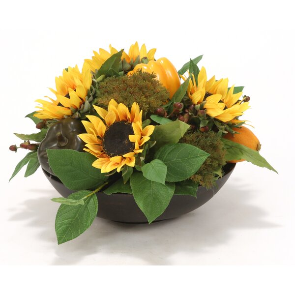 Mixed Centerpiece in Bowl by Distinctive Designs
