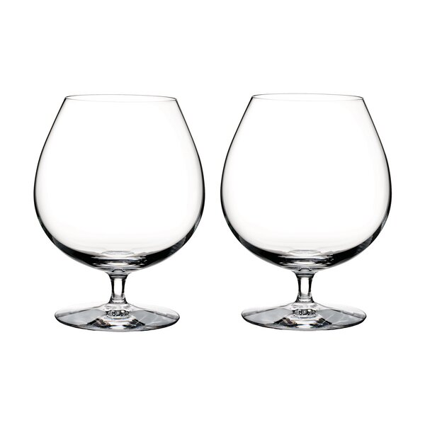 Elegance Brandy 29 oz. Crystal Liqueur Glass (Set of 2) by Waterford
