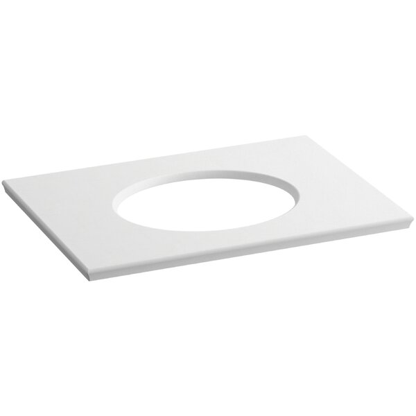 Solid/Expressions 31 Single Bathroom Vanity Top by Kohler